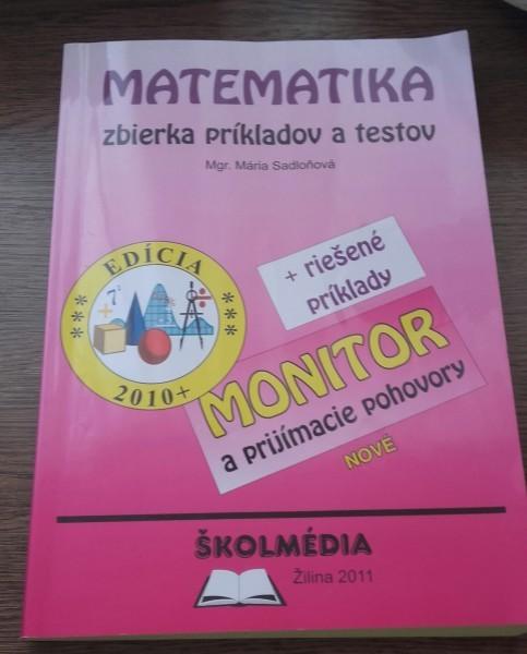 e40e4d596 Matematika - zbierka príkladov a testov | NÁRODNÝ ANTIKVARIÁT ...